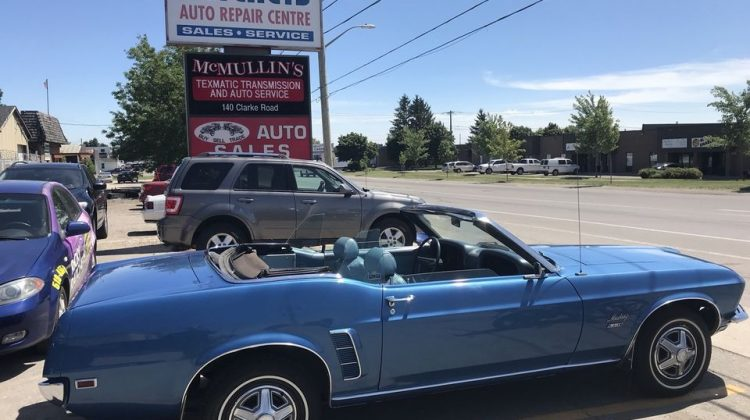 1969 FORD MUSTANG CONVERTIBLE – THINK SUMMER!