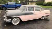 1956 PONTIAC LAURENTIAN – 4DR SEDAN . STARTS , RUNS AND DRIVES