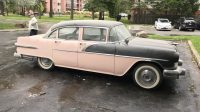 1956 PONTIAC LAURENTIAN – 4DR SEDAN . STARTS , RUNS AND DRIVES