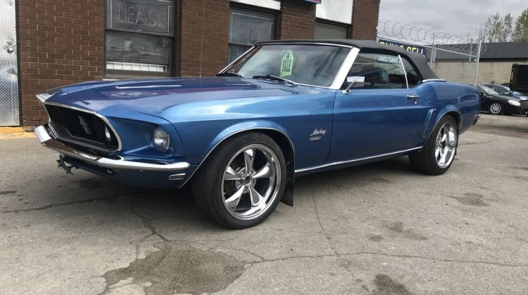 1969 FORD MUSTANG CONVERTIBLE – THINK SUMMER!!!
