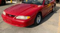 1996 FORD MUSTANG CONVERTIBLE CERTIFIED