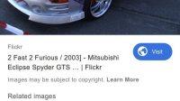 2003 Mitsubishi Eclipse GTS Coupe