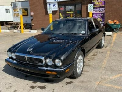 2000 JAGUAR XJ8 TEXAS CAR AS IS