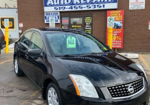 2009 NISSAN SENTRA 2.0 4CYL AUTO CERTIFIED!