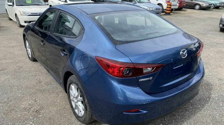 PANDEMIC PROJECT A 2017 MAZDA 3 TOURING
