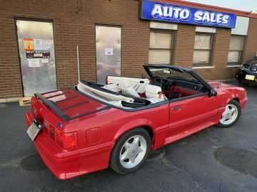 RARE TO GET A 30 YR OLD 1990 REAL GT COBRA MUSTANG 107K