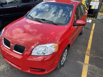 INCREDIBLE 1 OWNER 2009 PONTIAC WAVE WITH 85K
