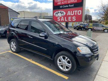 2007 MERCEDES ML350 4X4 SUV ONLY 162K CERTIFIED